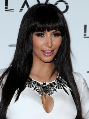 Kim Kardashian, Bangs