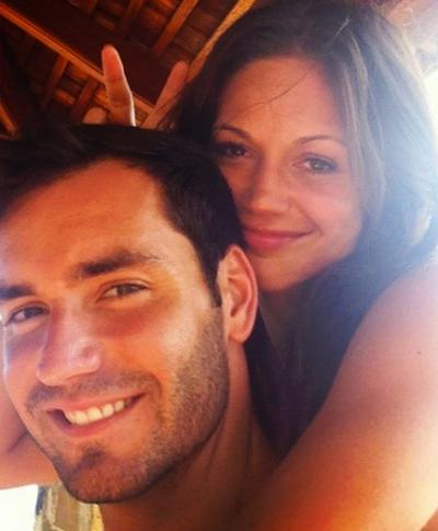 Desiree Hartsock With Chris Siegfried