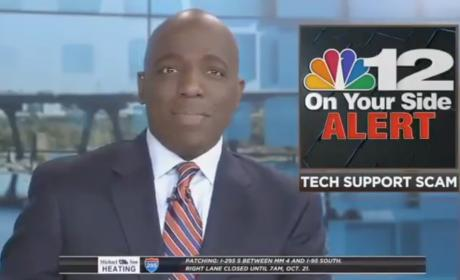 "Eric Philips, Virginia Anchorman, Tells Viewers to ""Check Your Panties"""