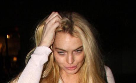 Lindsay Lohan Pictures: Hideous Again!