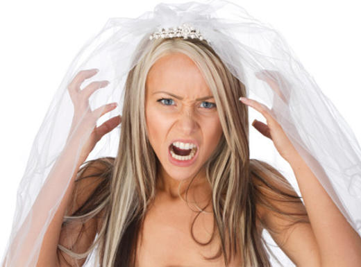 Insane Bridezilla