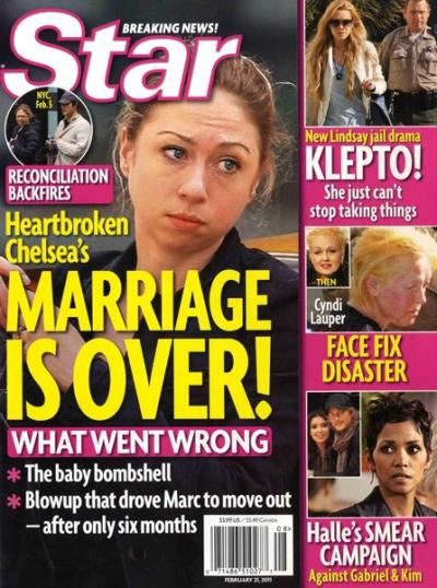 Chelsea Clinton Marriage Shocker