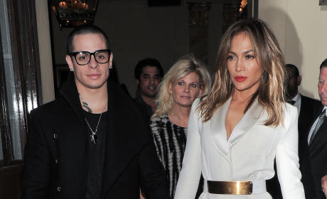 Jennifer Lopez and Casper Smart FAKED Their Breakup?!