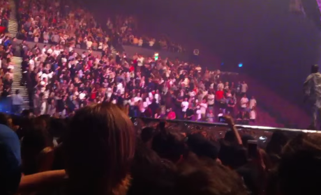 Kanye West Yells at Fans in a Wheelchair: STAND UP!