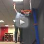 Fired Employee Dunks Office Basketball: He Believes He Can Fly!