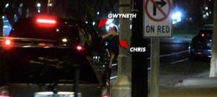 Gwyneth Paltrow Caresses Chris Martin