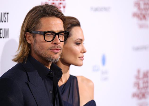 Brad Pitt's Long Hair