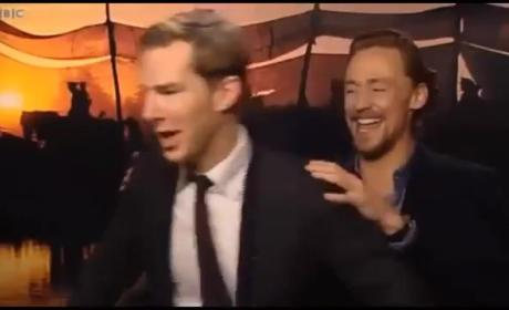 Tom Hiddleston and Benedict Cumberbatch Engage in Epic Online Dance-Off