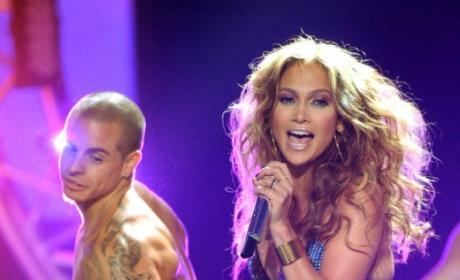 Jennifer Lopez, Casper Smart Split