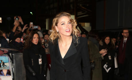 Amber Heard Red Carpet Photo