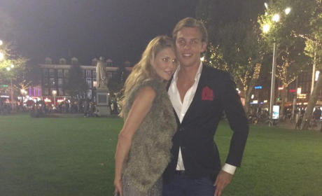 Brandi Glanville and Boyfriend