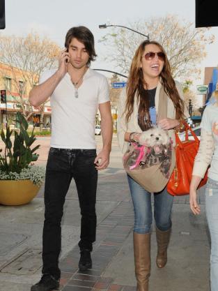 Miley Cyrus, Boyfriend Pic