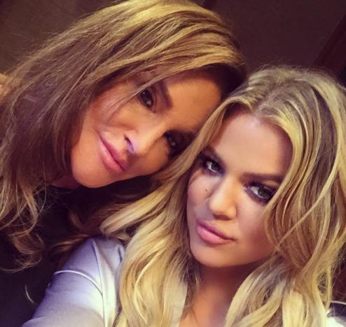 Caitlyn Jenner and Khloe Kardashian