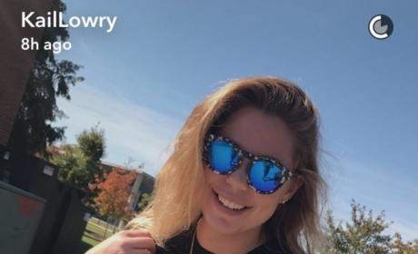 Kailyn Lowry Flaunts Breasts on Snapchat