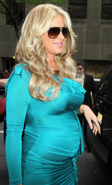 Kim Zolciak in Blue