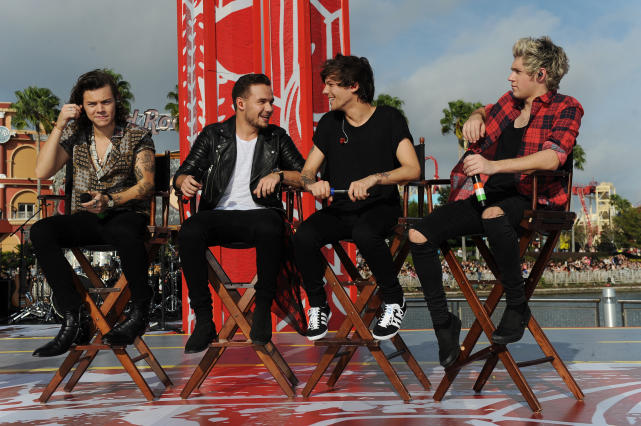 Four One Direction Members