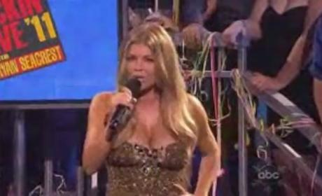 Jennifer Hudson - Feeling Good (Live on New Years)