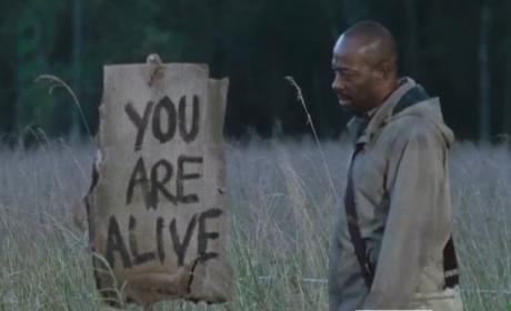 The Walking Dead Finale Scene