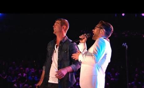 "Josh Kaufman Wins The Voice, Helps Robin Thicke ""Get Her Back"" in Awesome Duet"