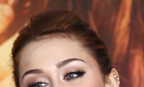 Miley's O-Face