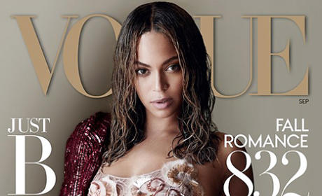 Beyonce Vogue Cover Pic
