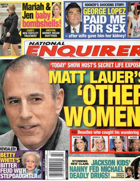 Matt Lauer: Other Women?