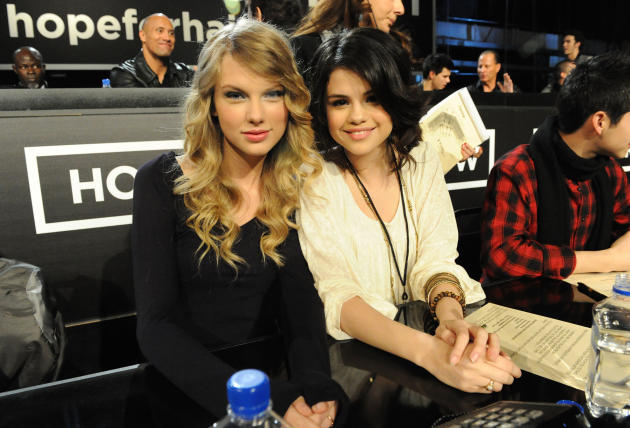Taylor Swift and Selena Gomez Image