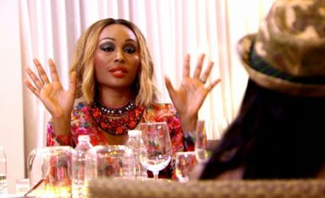 Cynthia Bailey Wishes NeNe Leakes Well