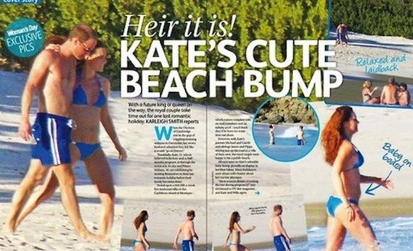 Kate Middleton Bikini Pics: Heir They Are!