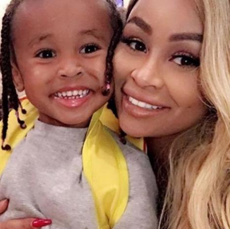 Blac Chyna &amp King Cairo Smiling