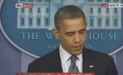 President Obama Cries During Connecticut Shooting Press Conference