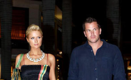 Doug Reinhardt and Paris Hilton Image