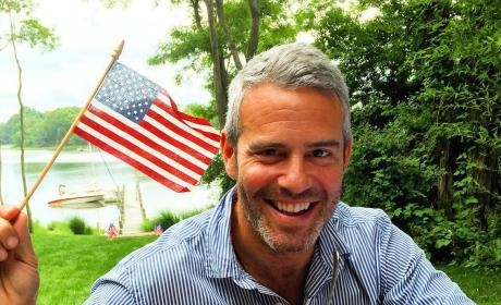 Andy Cohen on July 4