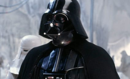 Darth Vader's Wife: Punched in the Head!