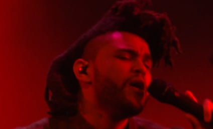 "The Weeknd Performs ""Cant Feel My Face"" at VMAs, Kanye Loses His Mind"