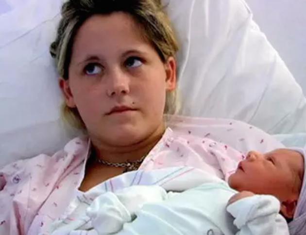 Jenelle Evans, Son
