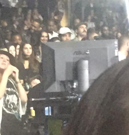 Selena Watches Justin