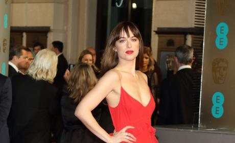 Dakota Johnson: 2016 EE British Academy Film Awards