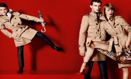 Romeo Beckham Makes Modeling Debut