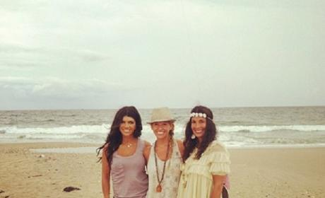 Teresa Giudice: Hanging in the Hamptons with Kids, #GreatFriends