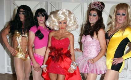 Katie Price & Alex Reid: Book-Signing Drag Queens
