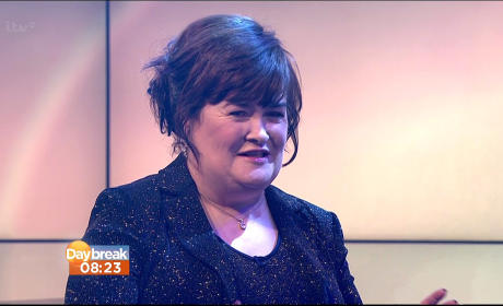 Susan Boyle Interview Pic