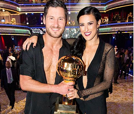 Rumer and Val with Trophy