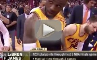 LeBron James Flashes Penis on Live TV