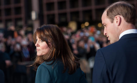 Kate Middleton and Prince William: ICAP Charity Day