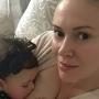 Alyssa Milano: I'm Breastfeeding!