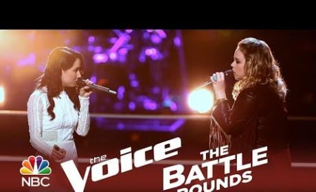 Bree Fondacaro vs. Taylor Brashears (The Voice Battle Round)