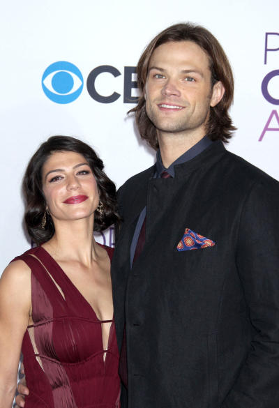 Jared Padalecki And Wife At People's Choice Awards