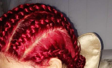Kylie Jenner Red Hair Pic