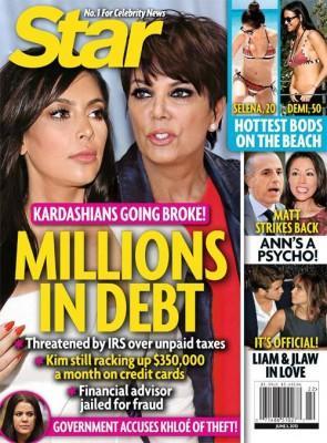 Broke Kardashians?